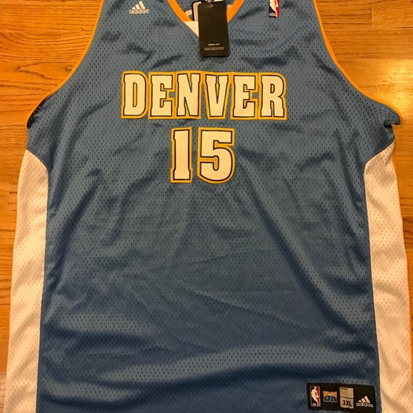 huge discount 45d37 e8703 Carmelo Anthony Denver Nuggets Swingman 3XL Adidas NWT